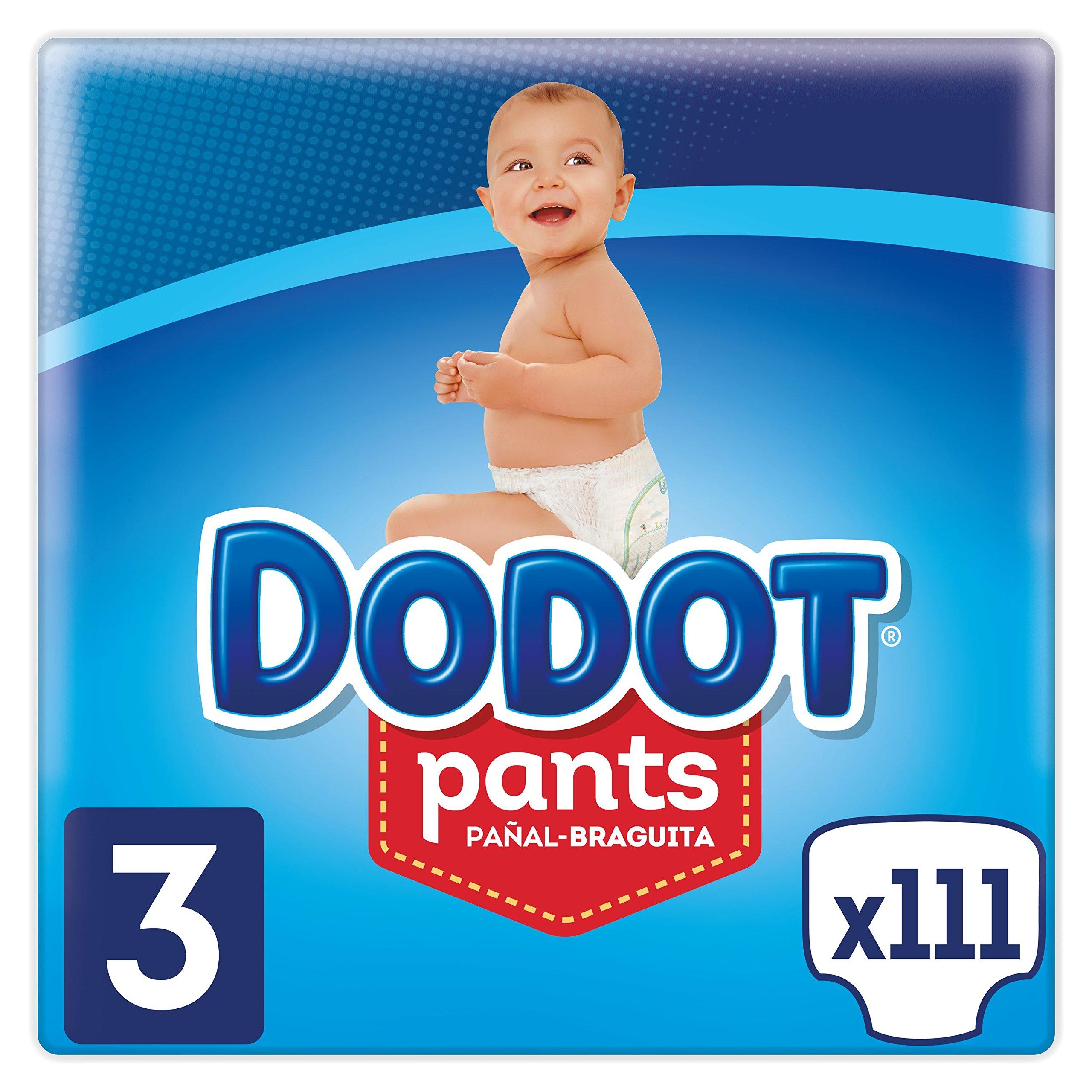 Dodot Pants – Pañal-Braguita, Fácil De Cambiar Con Canales De Aire