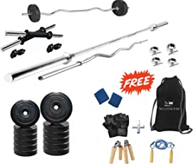 Protoner 30kg with Rods PVC Home Gym Set