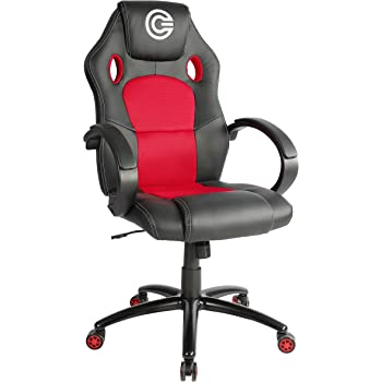 Circle Gaming Office Chair Ch50 Black Red Amazon In