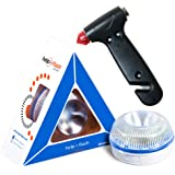 HELP FLASH SMART - luz emergencia AUTÓNOMA preseñalización de peligro y linterna, homologada, normativa DGT, V16, activación