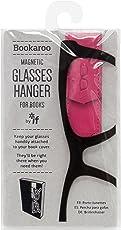 Bookaroo Glasses Hanger for Books Colour Pink for The Best Student, Books, Novel, Story Reading Lovers