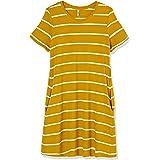 Only Onlmay Life S/S Pocket A-Line Dress Jrs Vestito Donna