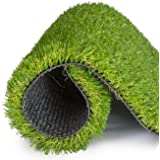 Artificial Grass for Dogs Pee Pads - Potty Pads Dogs Premium 4 Tone Puppy Potty Training, Easy To Clean with Drain Holes - Tu