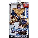 Marvel Avengers Titan Hero-reeks Blast Gear Deluxe Thanos-actiefiguur van 30 cm, geïnspireerd op de Marvel-strips, voor kinde