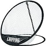LONGRIDGE Golf Equipment POP UP Chipping NET, Black/White