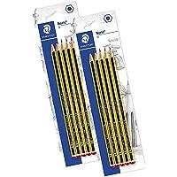 STAEDTLER matite Noris, confezione da 5 matite di gradazione HB, alta qualità e resistenza, 120-2BK5D (2x 5 Matite HB)