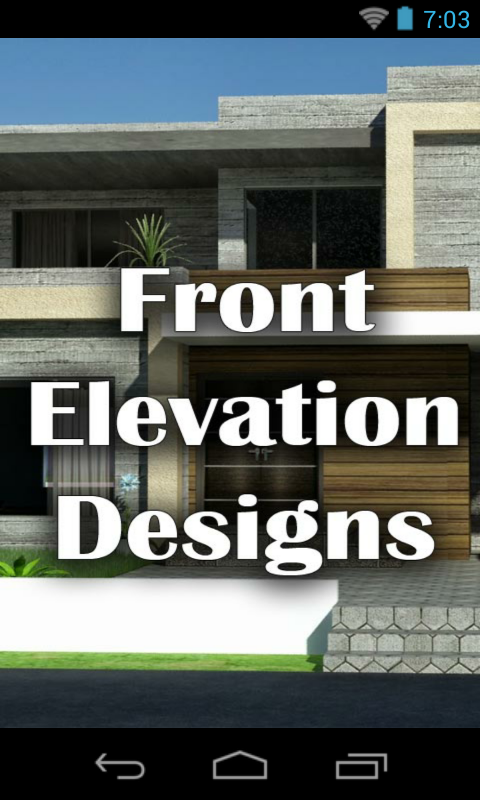 Front Elevation App : Front elevation designs houses amazon appstore