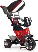 INJUSA- 325 Triciclo Infantil Body Sport Evolutivo con Control Parental de Dirección para Niños +10M, Color Rojo, 12m+ (