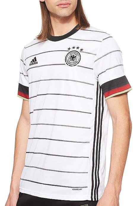 adidas DFB H JSY Camiseta de Manga Corta, Hombre, White/Black, 3XL: Amazon.es: Deportes y aire libre