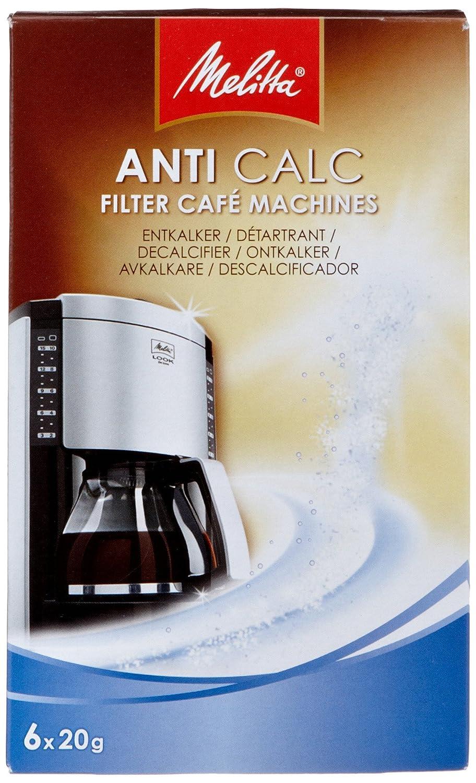 melitta dtartrant en poudre pour cafetires filtres x g amazonfr cuisine u maison