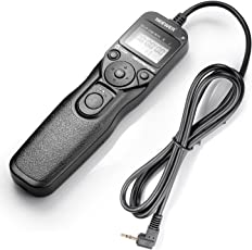 Neewer 10000374  Timer Remote Control RS-60E3 for Canon 550D or T2i