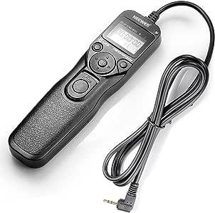 Neewer Rs-60E3 Télécommande avec minuteur pour Canon 550D/T2I