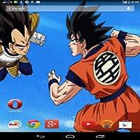 Goku vs Vegeta Live wallpaper
