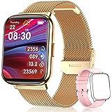 """TagoBee Smartwatch Mujer,IP68 Impermeable con 1.69"""" Táctil Completa Reloj Inteligente Mujer Monitor de Sueño Pulsómetro,Oxíge"""