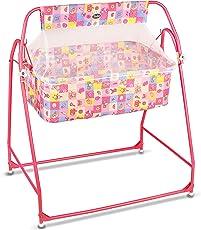 Shabu Baby Cradle - Crib - Model No.25R Age Group [ 0-11 Months ] (Pink)