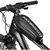 ROCKBROS Borsa Telaio Bici Borsa Tubo Anteriore Impermeabile per Bicicletta MTB 2 Taglie Disponibili capacità 1L/1.5L…
