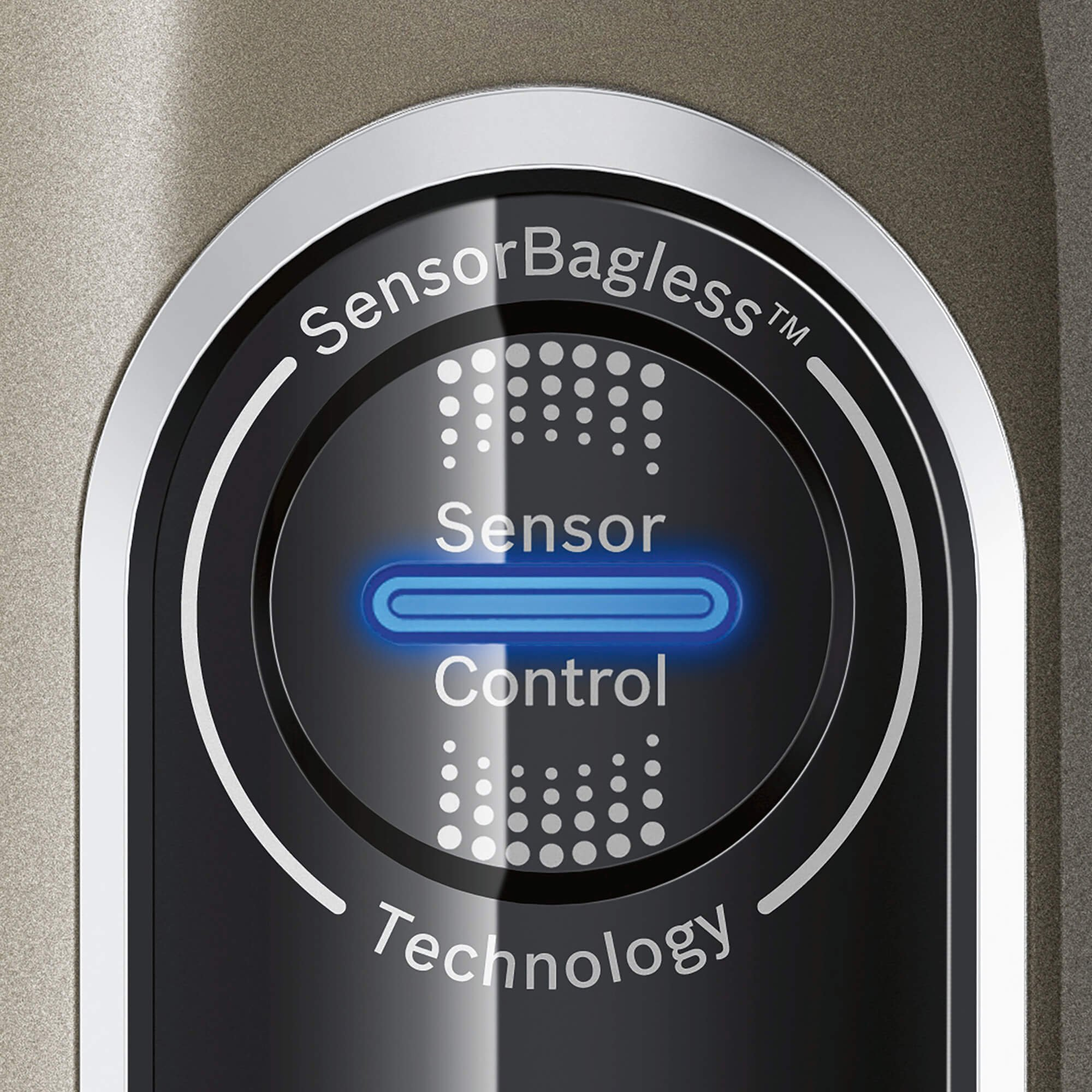 Bosch Athlet Ultimate–Staubsauger ohne Kabel für große Wohnungen, Reichweite bis zu 75Minuten, SmartSensor Kontrolle, Turbobürste motorisiert, rotationclean, Beige Aluminium und Chrom