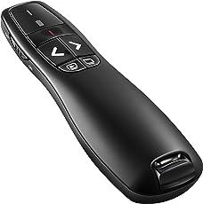 BlueBeach Wireless USB Presenter Powerpoint Fernbedienung Laserpointer für PPT / Keynote / Prezi / OpenOffice / Windows / Mac OS / Android / Linux