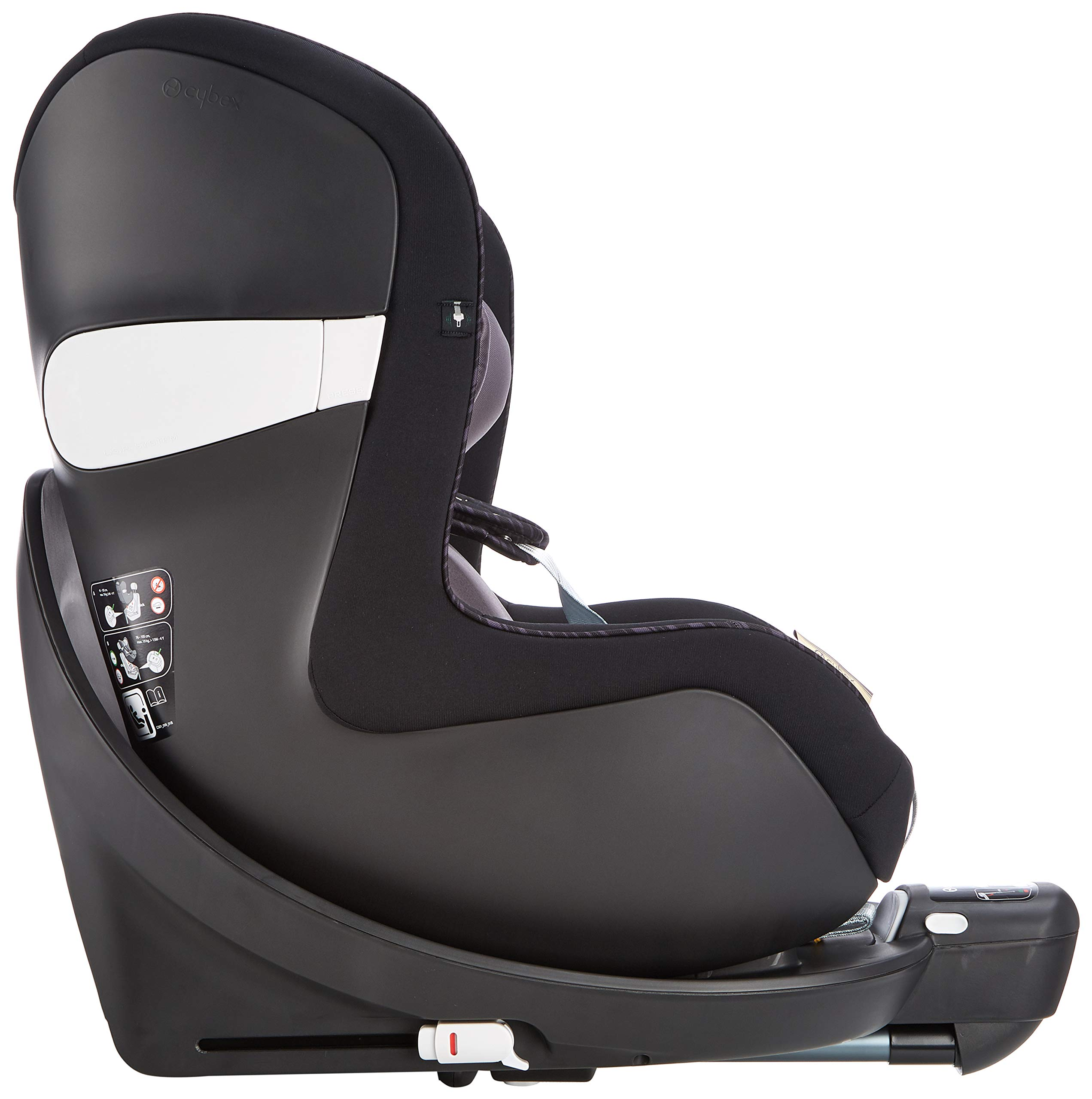 CYBEX Gold Sirona M2 i-Size Car Seat, Incl. Base M, From Birth to approx. 4 years, Up to Max. 105 cm Height, Premium Black  Cybex gold car seat sirona m2 i-size incl. base m Colour: premium black Item number: 519000959 4