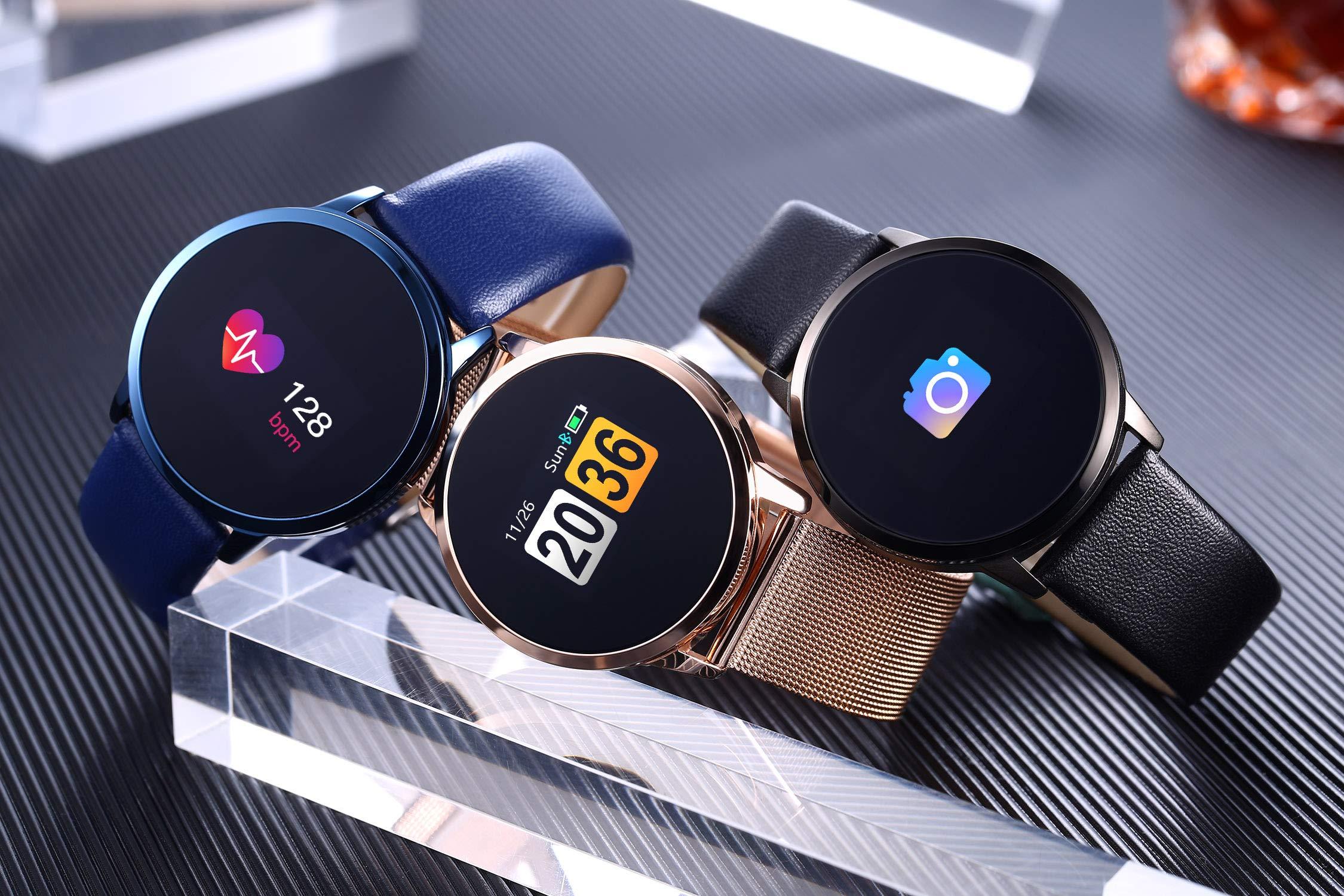 Adsvtech Smartwatch, Impermeable Reloj Inteligente Mujer Hombre, Pulsera Actividad Inteligente Reloj Deportivo Reloj… 8