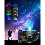Projecteur Ciel Etoile, 21 Modes Éclairage Lumiere Galaxie Plafond, Galaxie Projecteur avec Luminosité Réglable télécommande