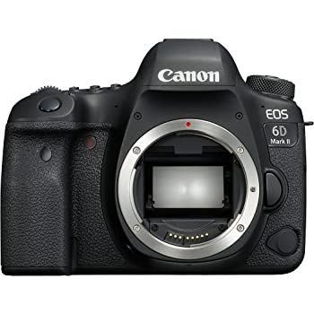 Canon EOS 6D Mark II Digital SLR Camera - Black
