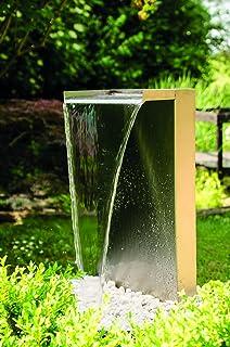 100cm Wasserfall Brunnen Alhambra aus Stein und Zink mit
