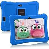 Tablet per bambini Pritom 7 pollici, Quad Core, Android 10,16GB di ROM, WiFi, Istruzione, giochi, software per bambini preins