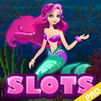 Enchanted Magic Big Sea Mermaid Slots Pro Edition - Under the Mystical Fish Ocean Vegas Millions Doubledown Casino Slot Machine with Gold Bonus Games