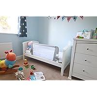 Venture QFix Bed Guard, Portable and Foldable Bed Rail 99cm x 42cm, White Grey