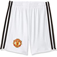 adidas Unisex Kids Manchester United Home Replica Shorts