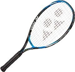 Yonex E Zone JR 25 Aluminum Strung Tennis Racquet, Kids 25-inch 245 g (Bright Blue)