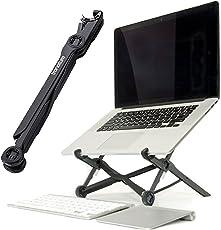 Premium Laptop Stand - Super leichter und ergonomisch einstellbarer Laptopständer - Ideal für Reisen - höhenverstellbarer Laptophalter fördert gute Körperhaltung, unterstützt effektives Arbeiten