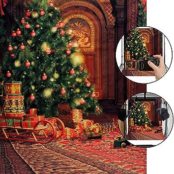 Weihnachts Fotohintergrund, CAMTOA 5X7ft Weihnachten