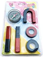 Abaj Kids Magnet Set and Magnetic Compass