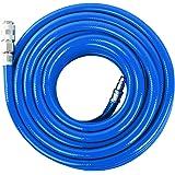 Scheppach 7906100711 tryckluftsslang PVC 15 mtr, blå