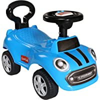 LuvLap Sunny Baby Ride On Car for Kids, Battery Operated Horn, Music & Light 12 Months Plus (Blue)