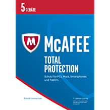 McAfee Total Protection 2017 für 5 Geräte (Download Code) [Online Code]