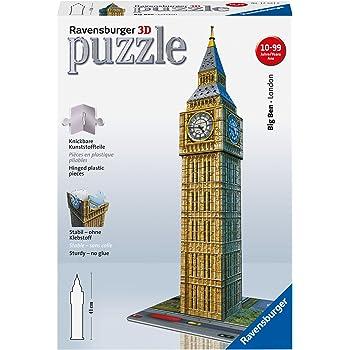 Ravensburger 12554 -  Big Ben - Puzzle 3D Building - 216 pezzi