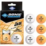 Donic-Schildkröt - Pallina da ping pong Jade, qualità Poly 40+, disponibile nei colori bianco, arancione o in mix di…