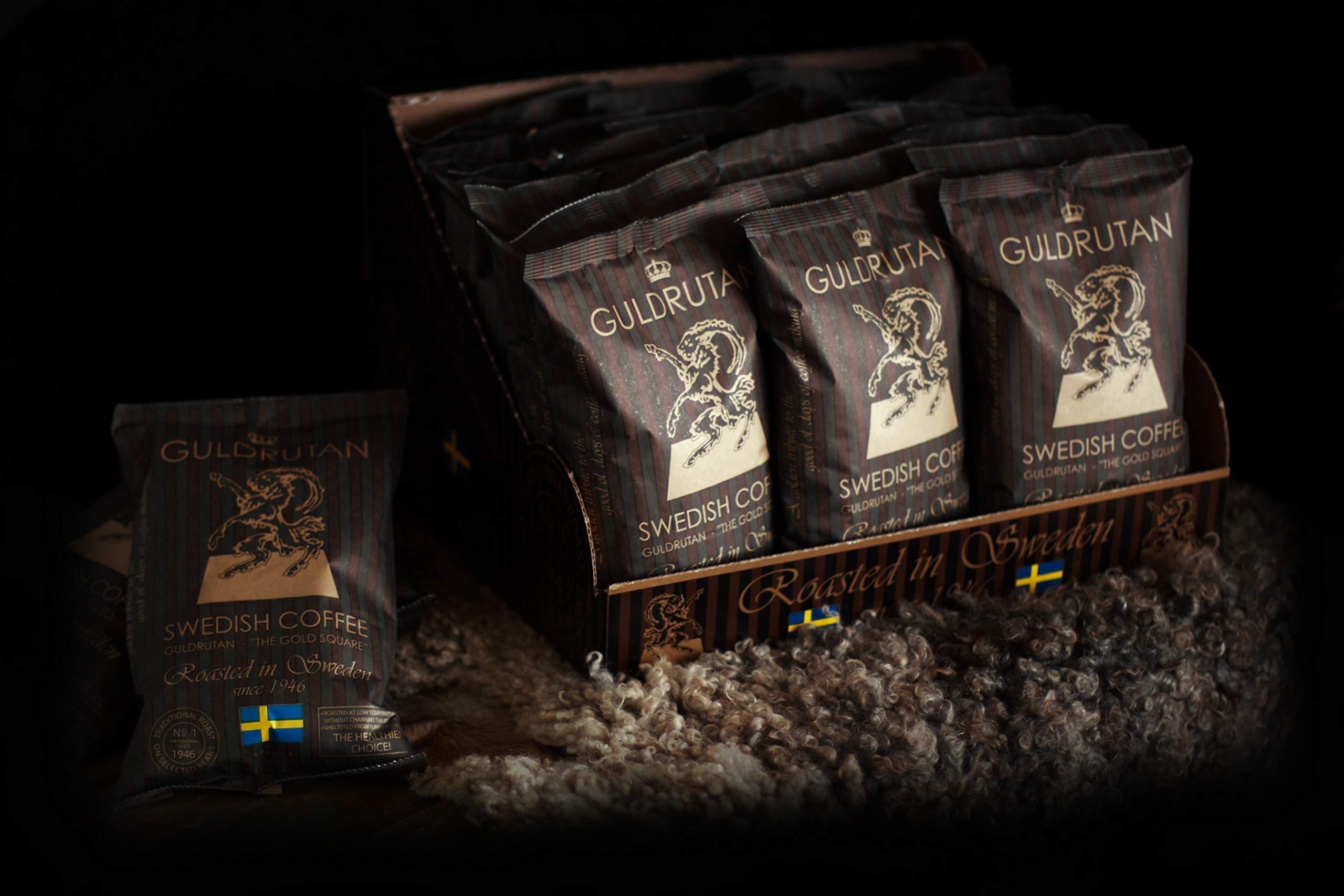 GULDRUTAN Medium Roast Ground Arabica Coffee