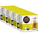 Nescafé Dolce Gusto Cappuccino, 4 Pakken, 4 x 16 Capsules (32 kopjes)