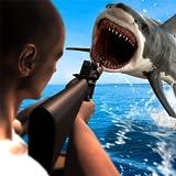 Caccia subacquea squalo arrabbiato