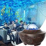 LED Sternenhimmel Projektor, WEISIJI Sternenlicht Projektor mit Fernbedienung/Bluetooth 5.0/ 3 Helligkeitsstufen Spielelichte