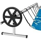 Arebos mobiel oprolsysteem voor zonne- en zwembadzeilen | lengte 3-5,70 m | weerbestendig materiaal