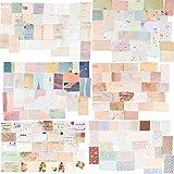 BHGT 360 Pezzi Carta Decorativi Decorazione Fai da Te per Scrapbooking Accessori Biglietti d'auguri Regalo Calendario Album F