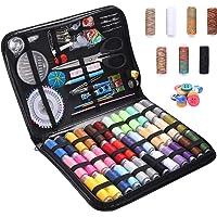 Kit de Couture Complet 226pcs Set de Couture Complet Kit Couture Machine a Coudre avec Housse en Cuir PU Portable Kit…
