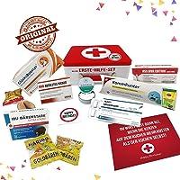 Geburtstagsgeschenk - Aller Erste Hilfe Set Geschenk-Box, witziger Sanikasten | Das Original | Scherzartikel zum...