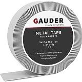 GAUDER Metalen Band Zelfklevend | Ferroband voor Magneten | Magnetische Strip van Plaatstaal