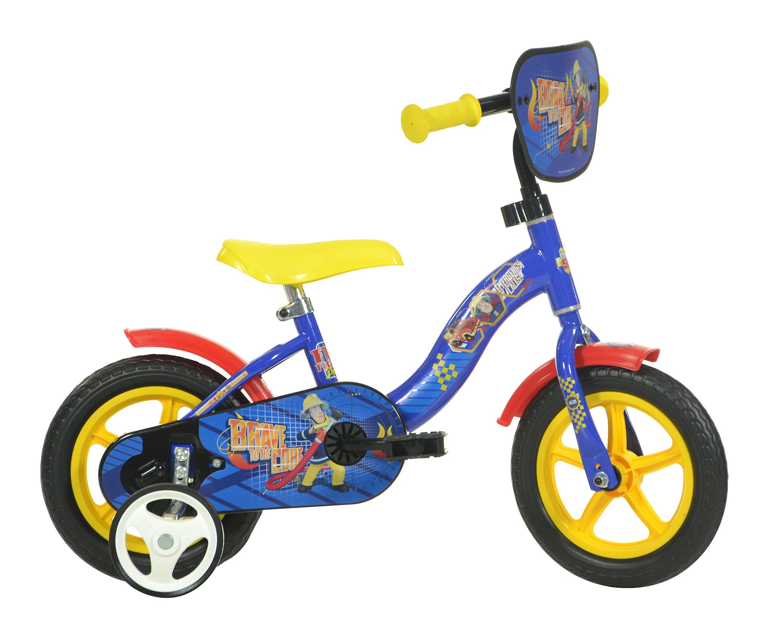 81j2eBCpDpL - Dino Bikes 108L-SIP 10-Inch Fireman Sam Bicycle